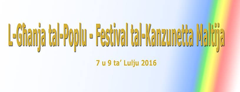 L-Ghanja tal-Poplu  2016 will take place in July this year