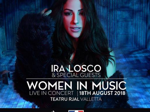 IRA LOSCO PRESENTS WOMEN IN MUSIC CONCERT