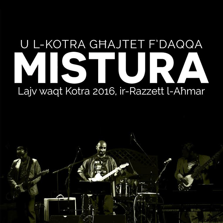 Mistura's first live album is out now