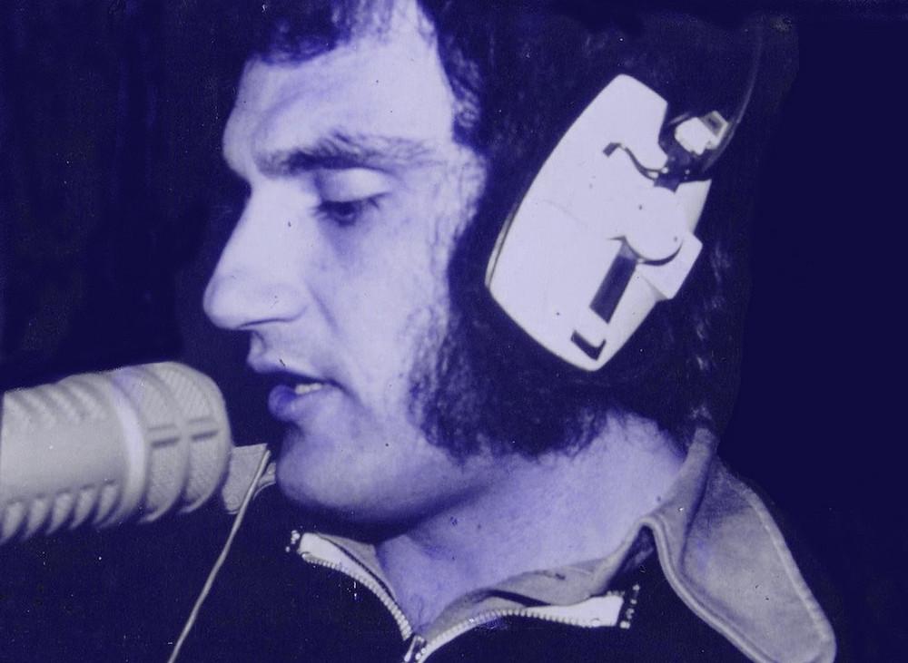 Freddie Portelli in the studio back in the 1970s