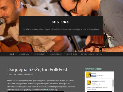 MISTURA: OFFICIAL WEBSITE LAUNCHED