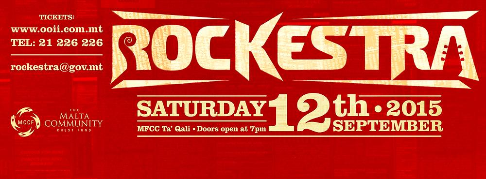 Rockestra 2015 Malta concert
