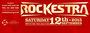 Rockestra 2015 live concert Malta