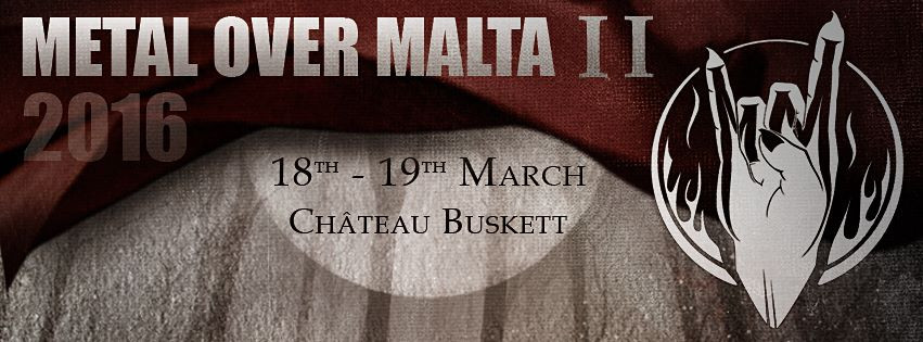 Metal Over Malta II takes place on 18 and 19 March, 2016