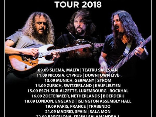 THE ARISTOCRATS TO KICK OFF EUROPEAN TOUR IN MALTA