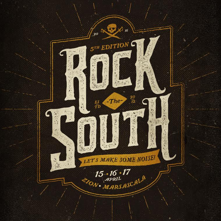 This year's Rock the South kicks off on Friday 15 April