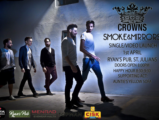 THE CROWNS RELEASE  SMOKE AND MIRRORS