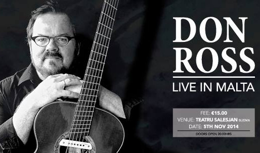 SOLO CONCERT FROM DON ROSS