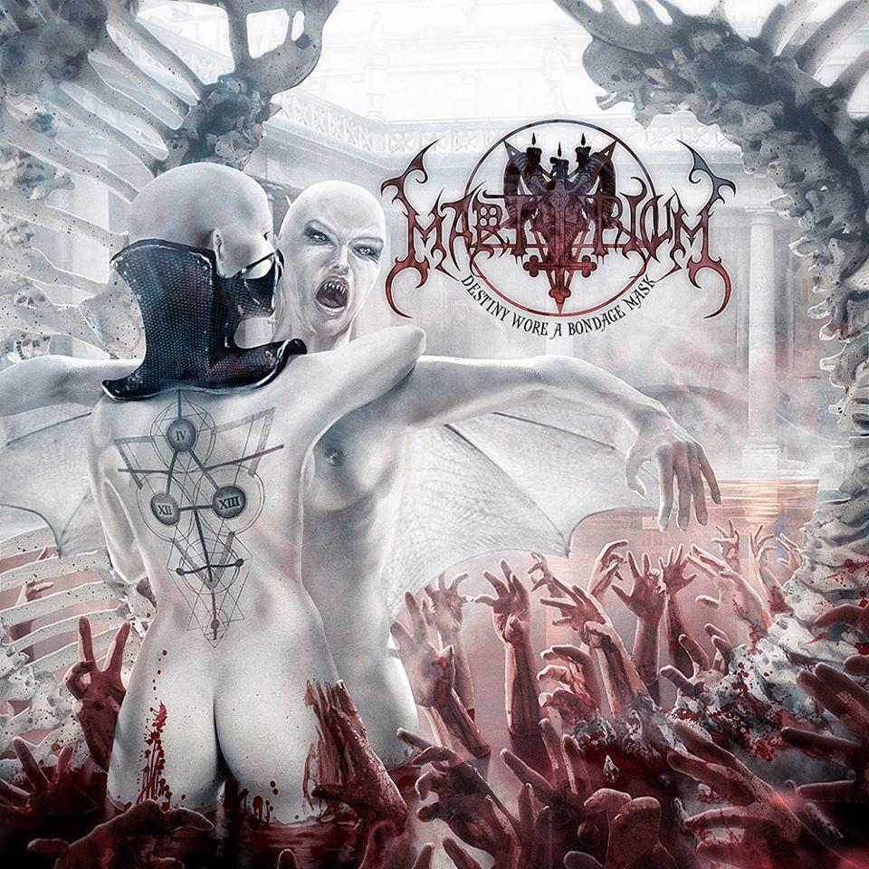 Cover art for Martyrium's upcoming album
