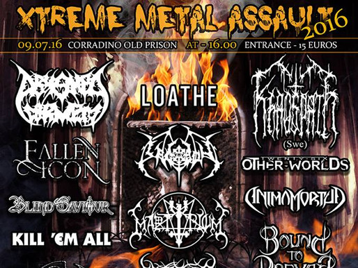 X-TREME METAL ASSAULT 2016