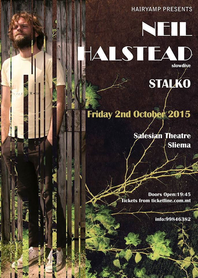 Hairy Amp presents Neil Halstead live in Malta