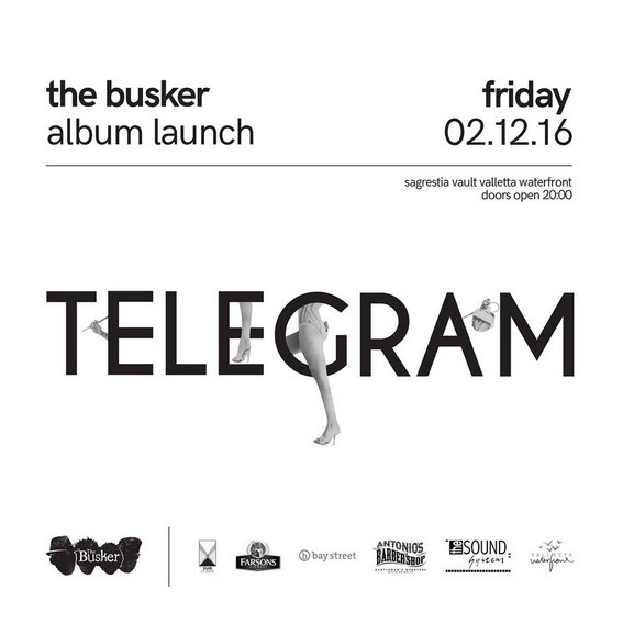 The Busker will be launching their debut album on Decemebr 2, 2016