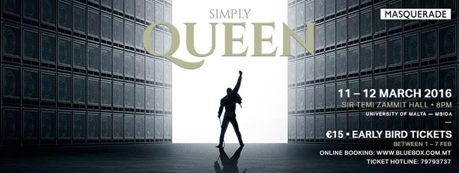 Simply Queen concert will be staged in March