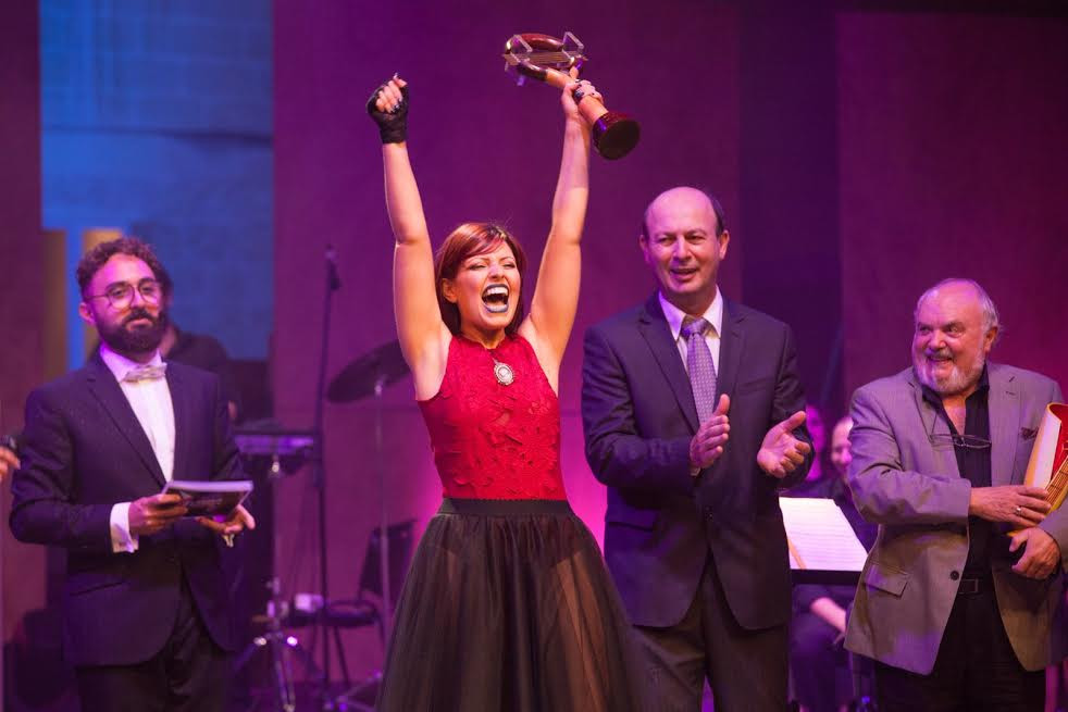 Corazon, the winner of this year's edition of the L-Ghanja tal-Poplu festival