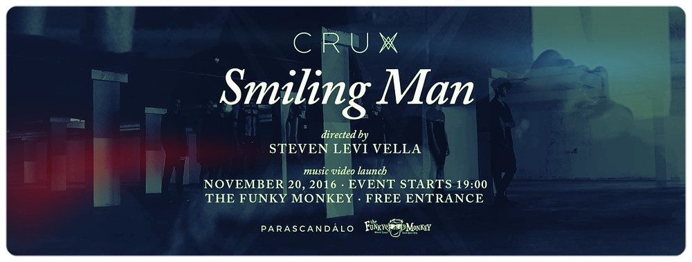 Crux's Smiling Man video brings together music, art and fashion!
