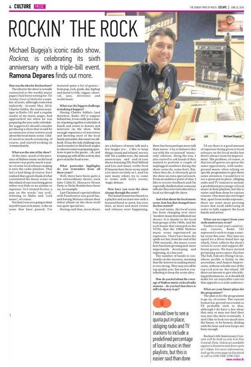 Click image to read article at timesofmalta.com