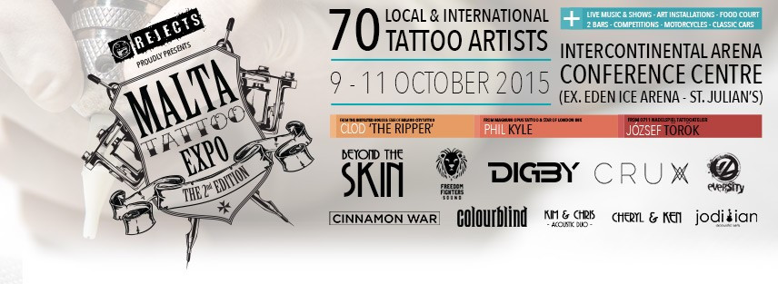 Malta Tattoo Expo 2015