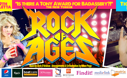 ROCK OF AGES - NOT TO BE MISSED!