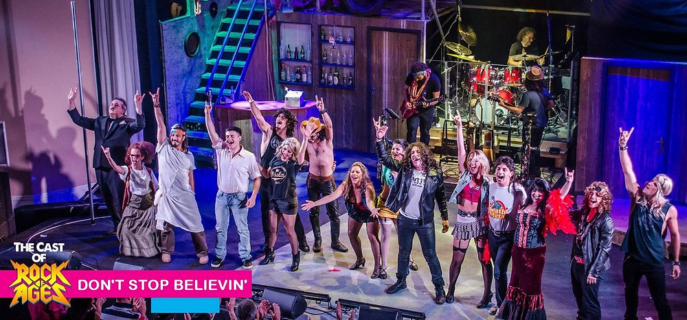Rock of Ages: Don't stop believin'!