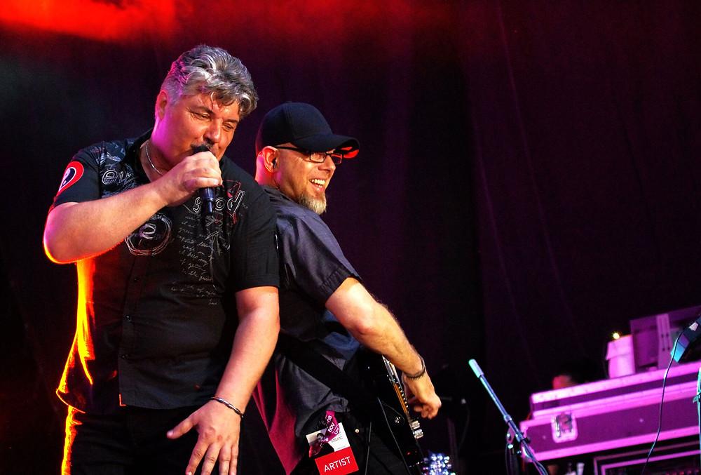 Ivan Grech with guitarist David Cassar Torreggiani_photo by Ivan Pierre Vella
