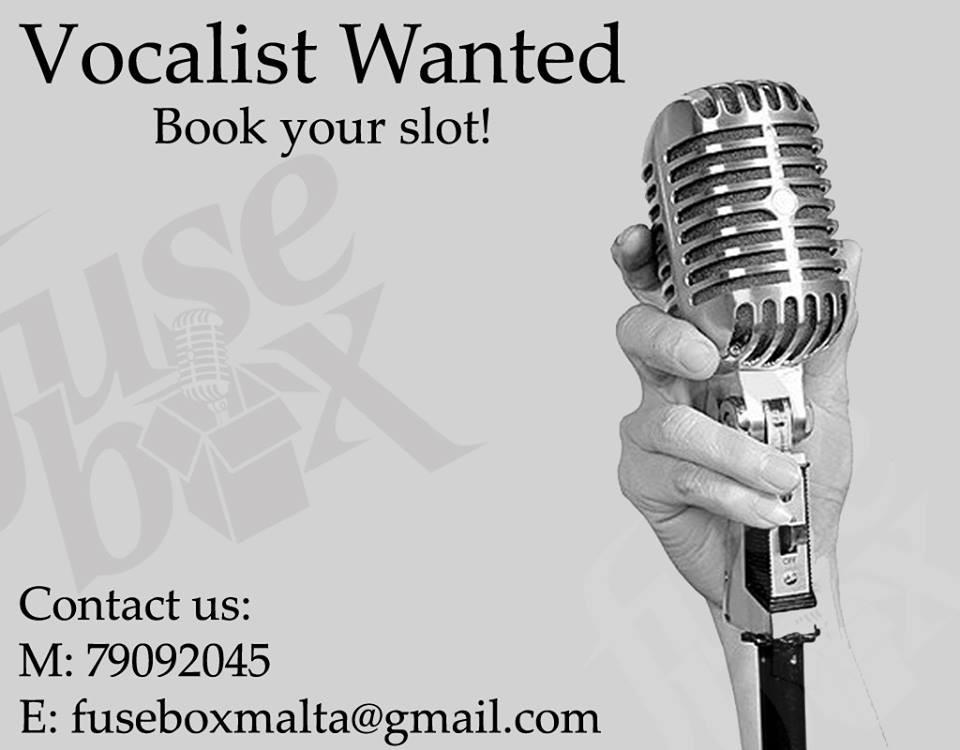 Fusebox vocalist auditions