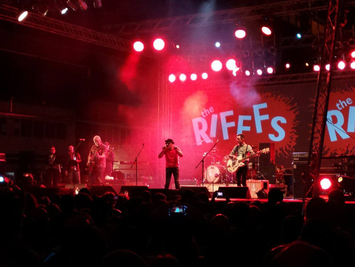 THE RIFFFS: CAN'T STOP THE MUSIC
