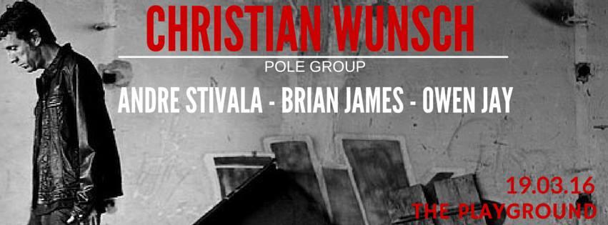 STOLT's third event features Christian Wunsch