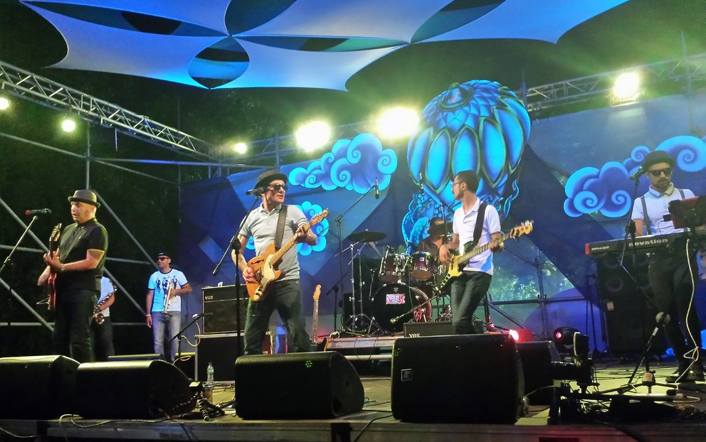 The Rifffs live at Earth Garden 2015