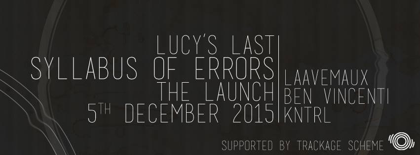 Lucy's Last will be launching their debut EP on December 5th