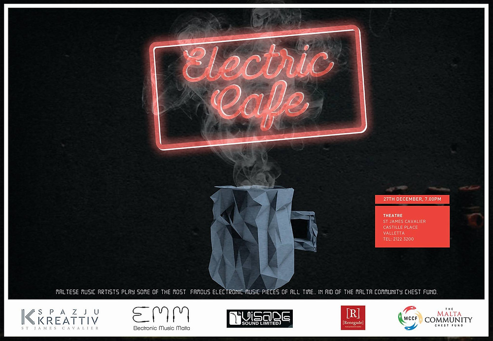 EMM presents Electric Cafe on 27 December