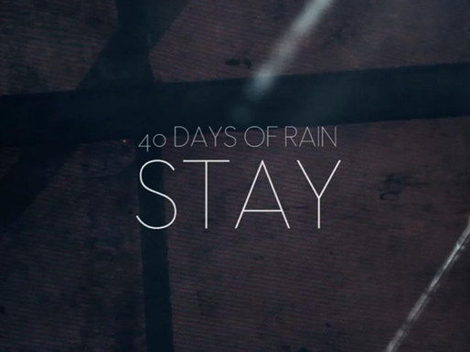 THIRD SINGLE FROM FORTY DAYS OF RAIN