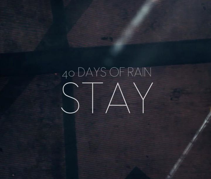 Forty Days of Rain - Stay CD cover