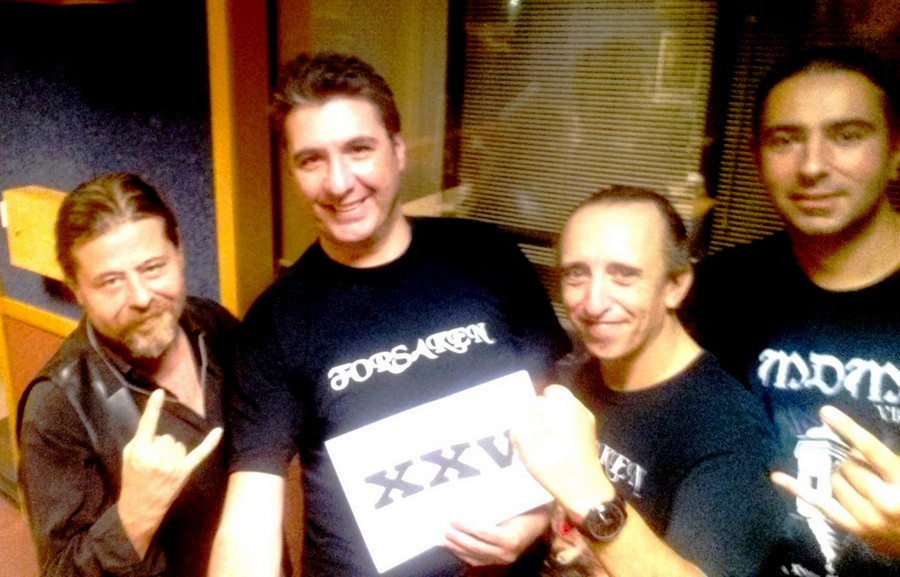 Forsaken with Michael Bugeja after the Fuzzbox Radio Special