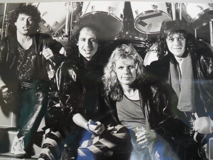 High'N Dry in 1988