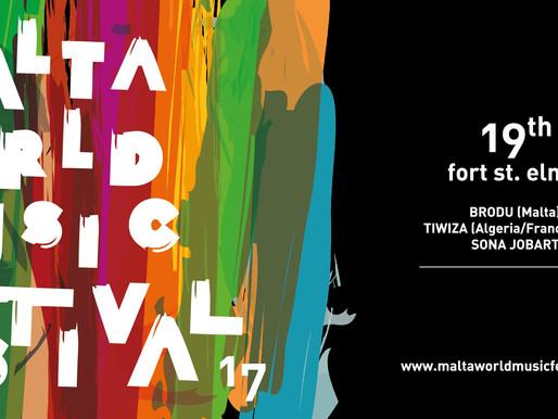 ROCKNA INTERVIEW: MALTA WORLD MUSIC FESTIVAL 2017