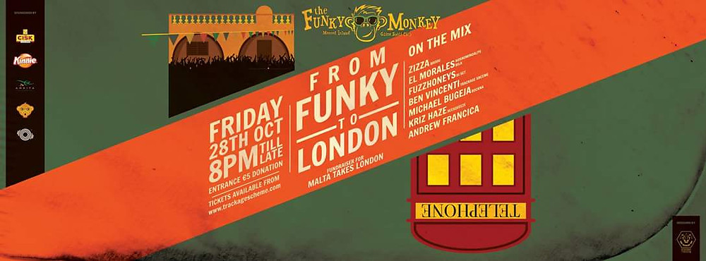 Don't miss the MTL pre-party taking place at Funky Moneky on Friday, October 28