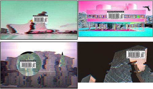 翻玩建築系列 貼紙