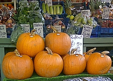 Halloween or just seasonal fresh local vegetables - Cousins Butchers got it all for you, Cambridge!