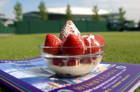 Strawberries and Cream for your Wimbledon week