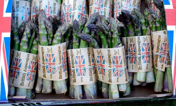 new 2016 season asparagus at Cousins Butchers