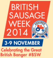 British Sausage Week 3-9 November 2014 - celebrate it with Cousins' best hand-crafted sausages