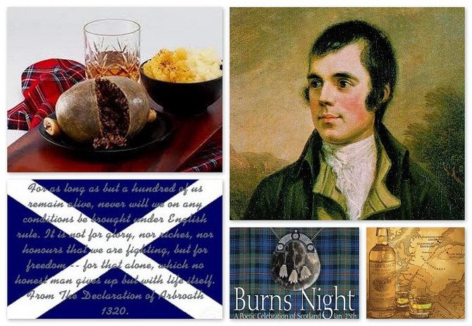 Haggis for Burns Night Supper in Cambridge 2015