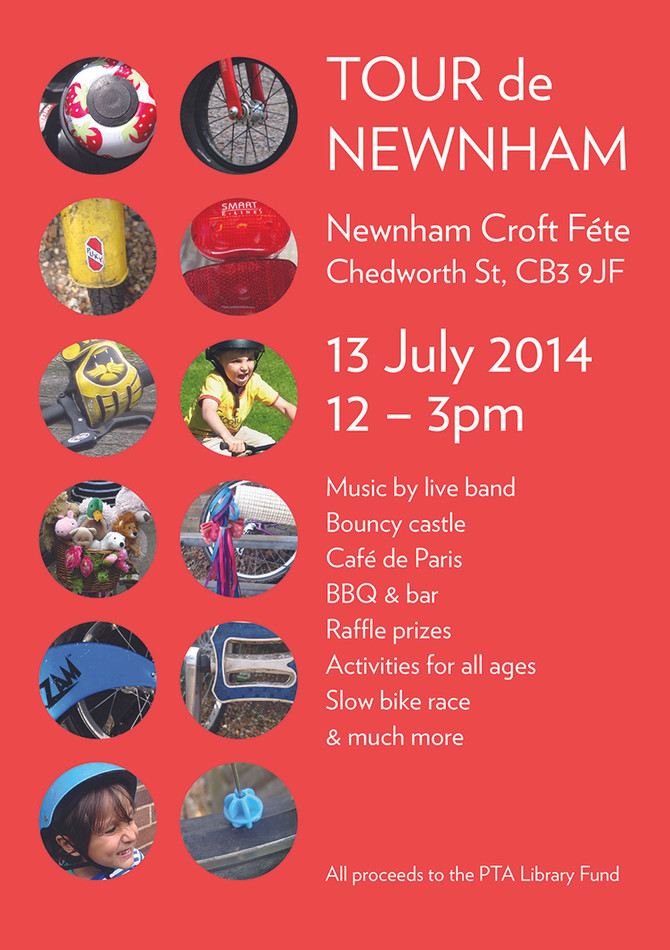 Just after Le Dust settles, Newnham will be ready for some Le Fete action!