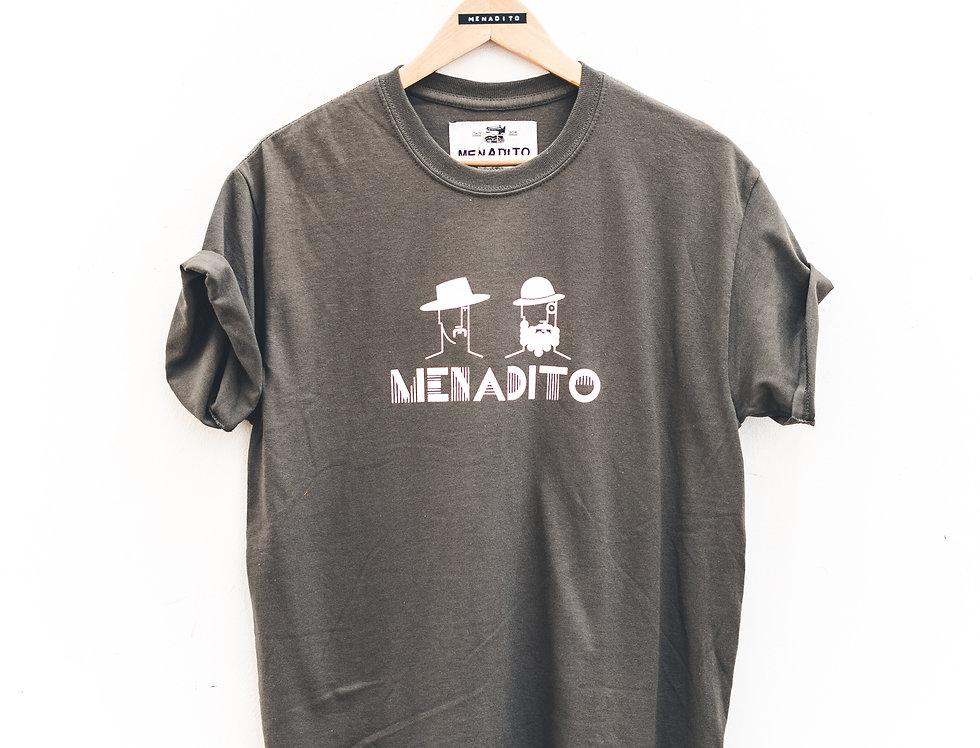 T-Shirt Olive stampa Bauhaus