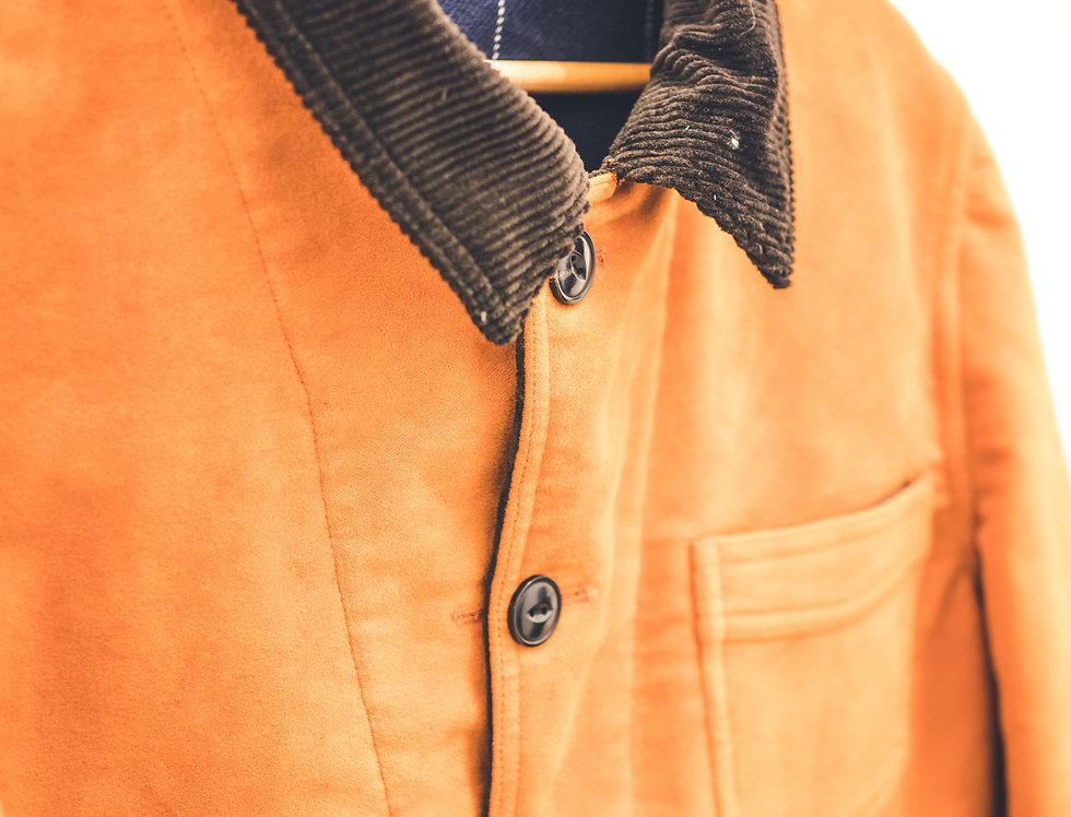 Work Jacket - fustagno Arancio