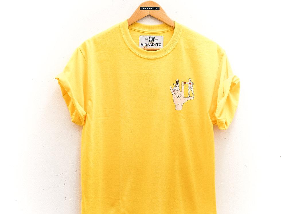T-Shirt Yellow Box & Ride