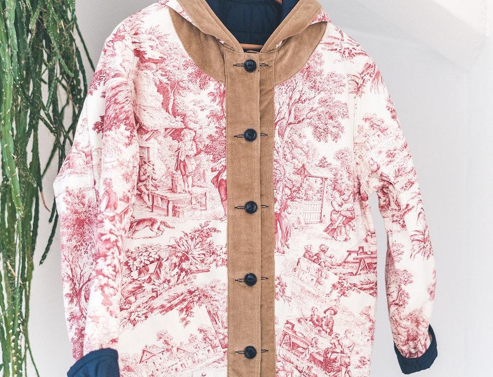 Osti jacket double hunter toile de jouy