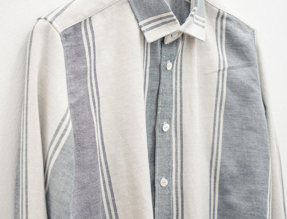 Camicia cotone e lino