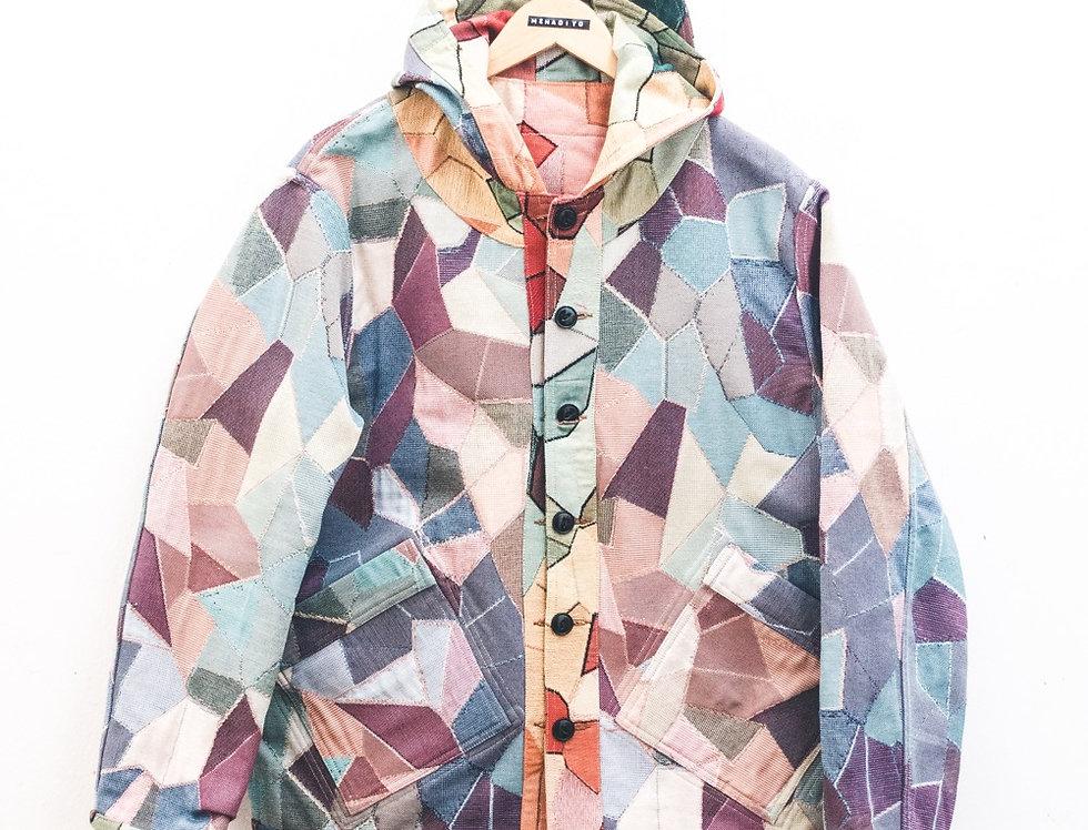 Osti jacket reversibile in Gobelin