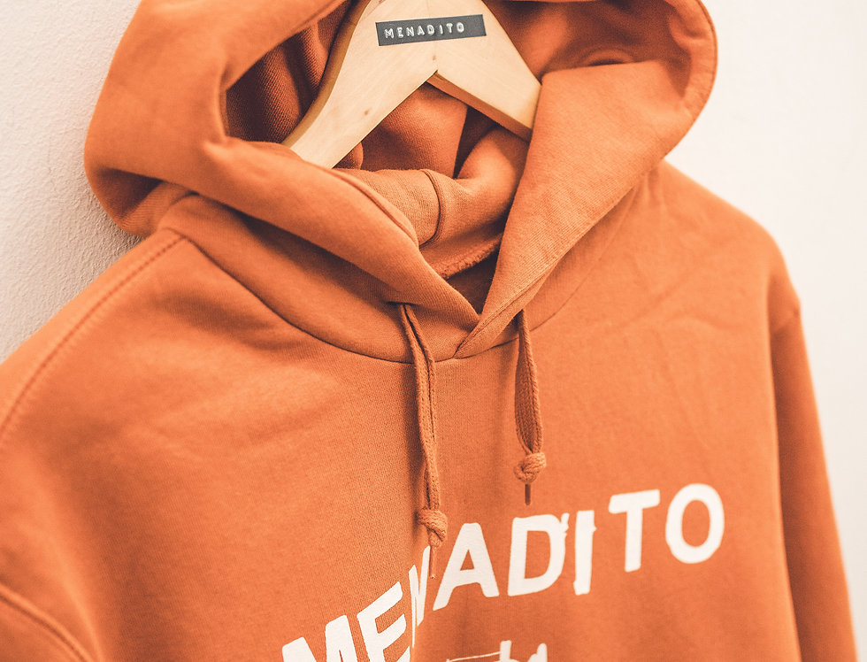 Felpa Hooded Orange